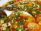 Рецепта Бобена супа със зеленчуци (лук, моркови, зелени чушки, домати)
